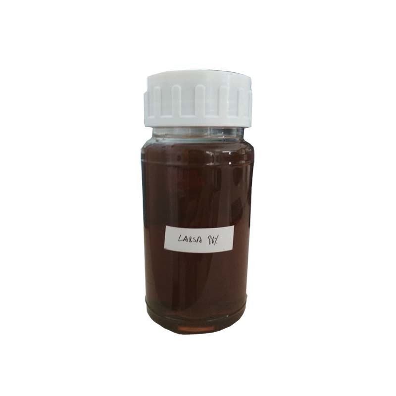 96% labsa price Common Surfactants Linear Alkyl Benzene Sulfonic Acid Good Decontamination